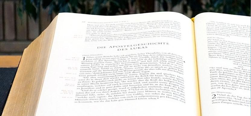 Predigtreihe Impulsgeber Bibel