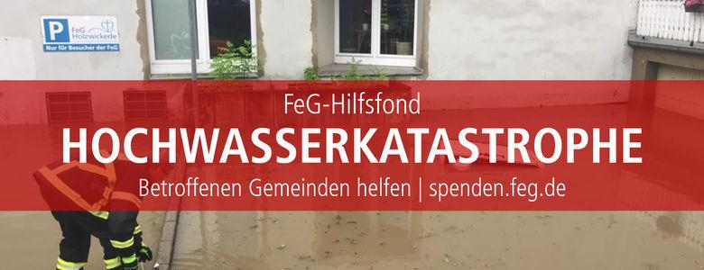 Hilfsfond Hochwasserkatastrophe 2021
